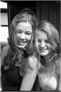 Britt en Melanie