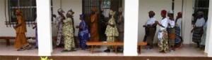 dansende rij
